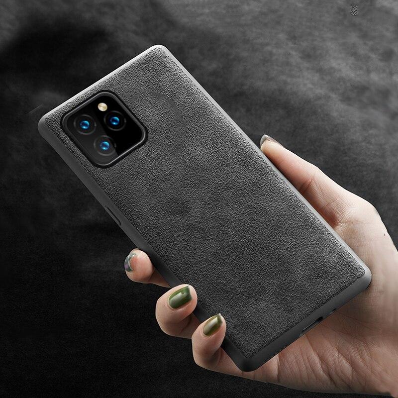 LANGSIDI Original Genuine Leather Phone case for iphone 11 11Pro 11 Pro Max X XR XS max 6 6S 7 8 plus SE 2020 protective cover