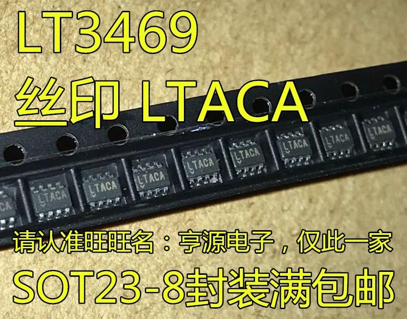 شحن مجاني LT3469ETS8 LT3469 LTACA سوت-23-8 10 قطعة