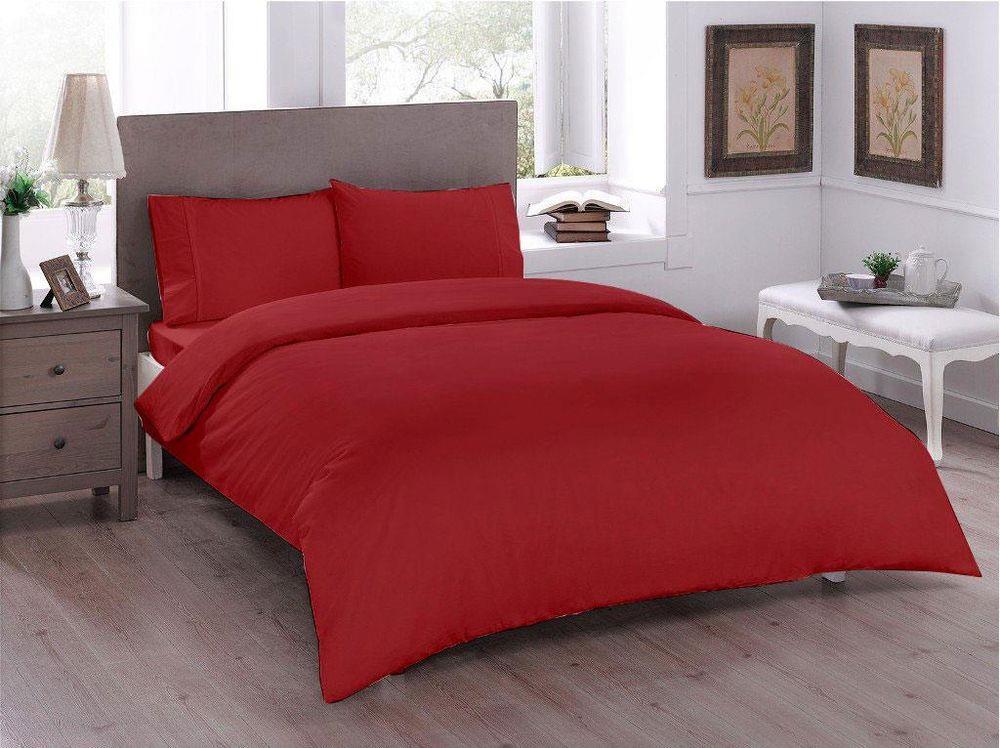 داكري بلاد العجائب-طقم غطاء لحاف مزدوج ، أحمر