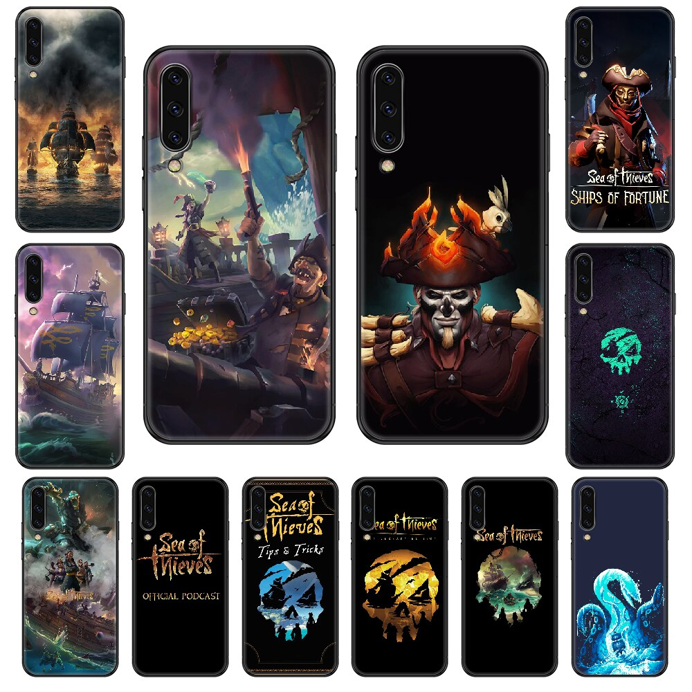 Game Sea Of Thieves Phone case For Samsung Galaxy A 3 5 8 9 10 20 30 40 50 70 E S Plus 2016 2017 2018 2019 black trend hoesjes