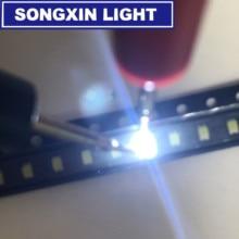 100 pièces 0805 Diode LED assortiment Diode SMD LED Kit de Diode LED blanc 0805 (2012) SMD LED Diode électroluminescente Kit lampe puce perles de lumière