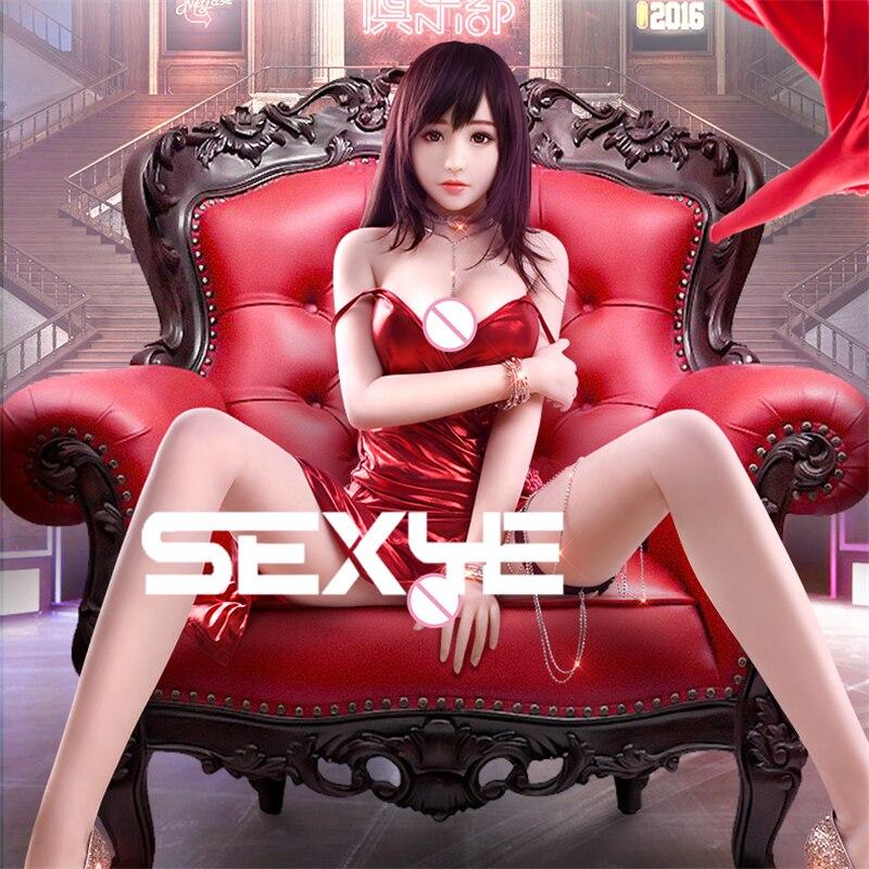 SEXYE japonés adulto muñeca del sexo para el hombre realista de cuerpo completo muñeca Sexy Anime realista Vagina culo coño grande de mama de silicona muñeca del sexo
