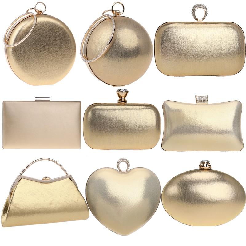 Women Evening Bags Rhinestones Small Day Clutch Shoulder Chain Ball Design Party Wedding Handbags For Female Purse