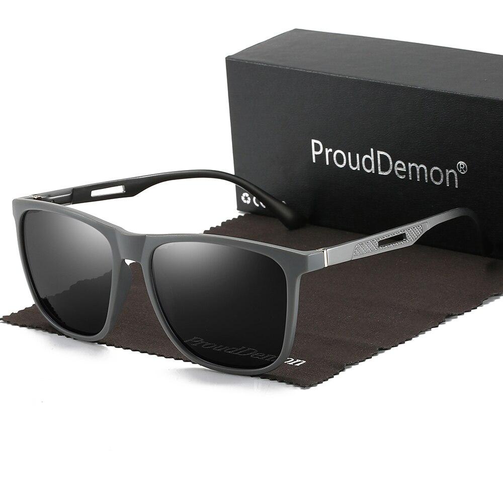 Vintage redondo de aluminio Marco de gafas de sol para hombres, gafas clásico espejo gafas de sol de conducción de logotipo personalizado de marca de diseñador UV400