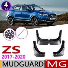 4 PCS Front Rear Car Mudflaps for MG ZS MGZS 2017 2018 2019 2020 Fender Mud Guard Flaps Splash Flap