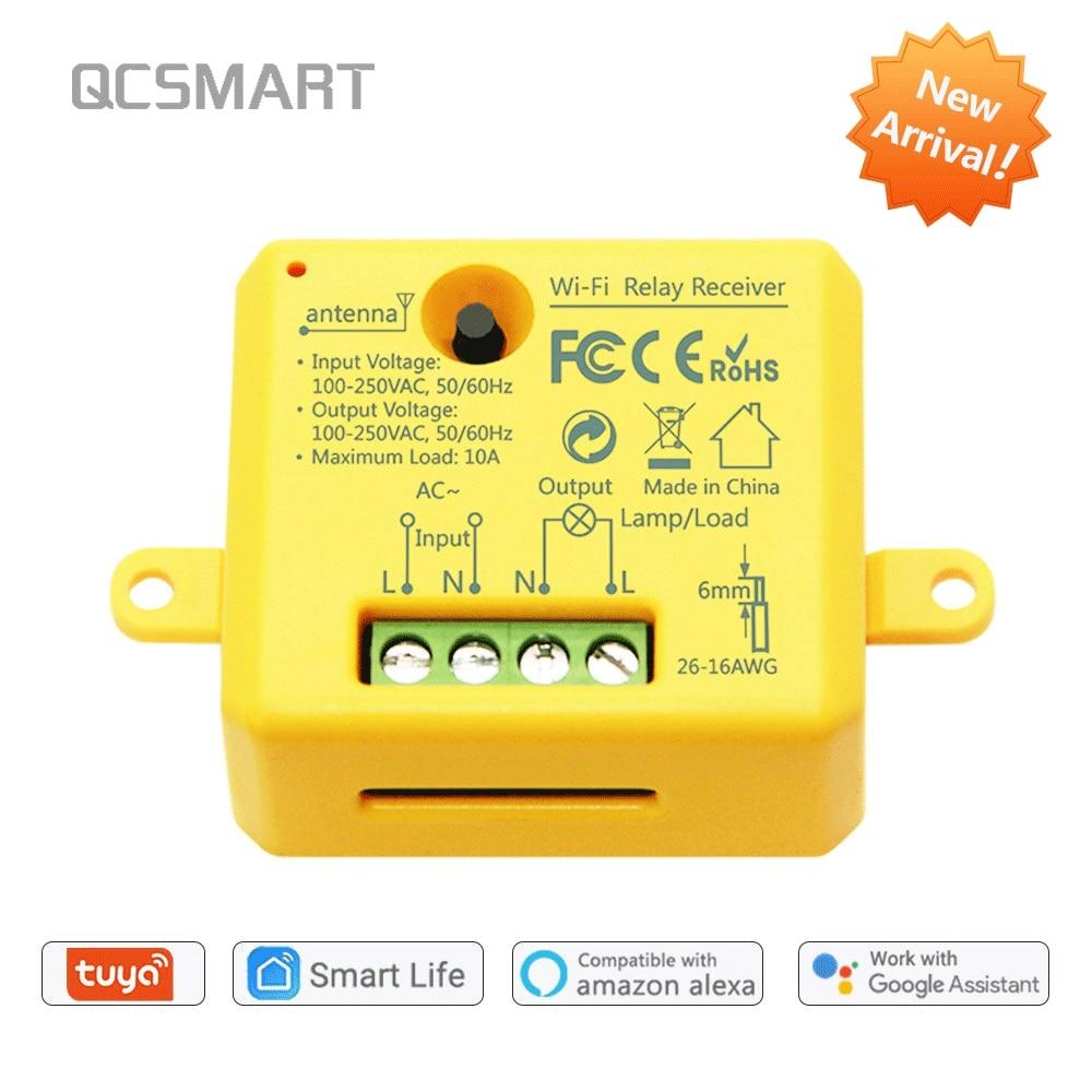 Módulo de relé de tomada wifi tuya, alexa echo casa inteligente diy, app super temporizador controle remoto