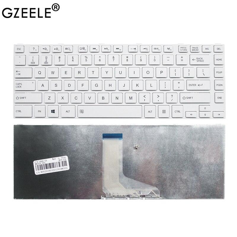 جديد لتوشيبا L800 L805 L830 L835 L840 L845 L840D L845D L800D P840 P845 C800 C840 C845 محمول لوحة المفاتيح الإطار الأبيض لنا