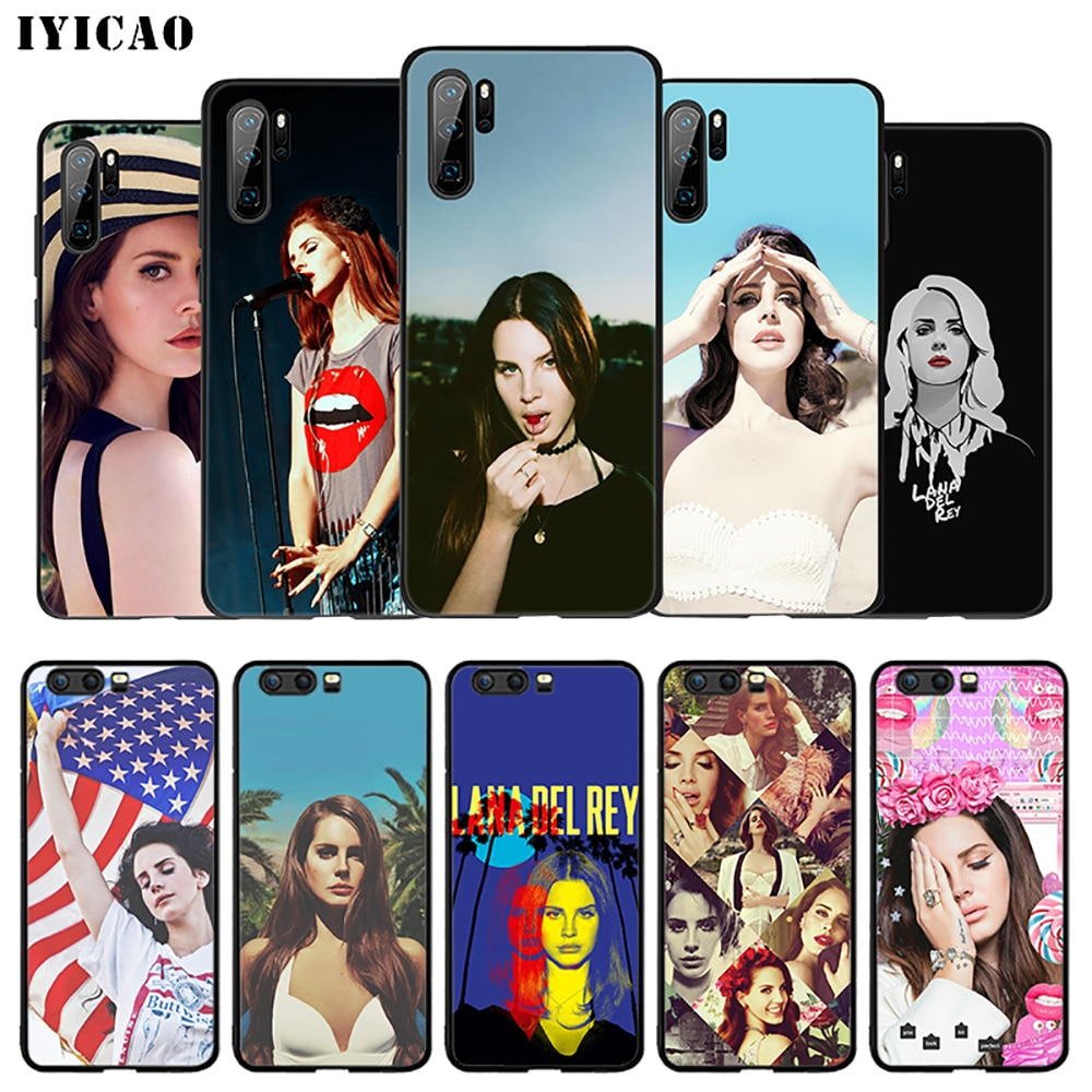 IYICAO Lana Del Rey suave caso de Huawei P30 P20 P10 P9 P8 P Smart Z Plus 2019 Lite Pro 2018, 2017, 2016 TPU