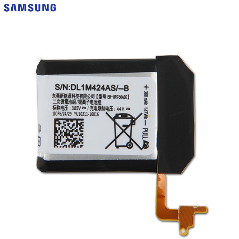 SAMSUNG Original Replacement Battery EB-BR760ABE For Samsung Gear S3 Frontier / Classic Smart Watch SM-R760 SM-R770 SM-R765 enlarge