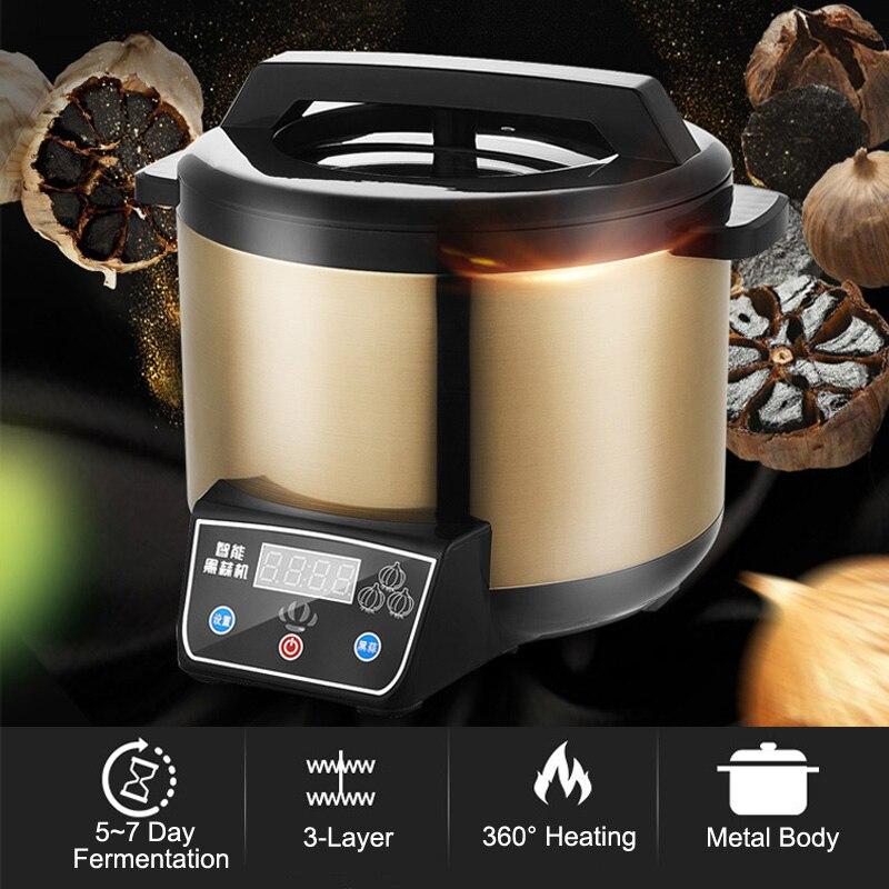 Máquina fermentadora automática con temporizador, fermentadora de ajo para el hogar, máquina de fermentación automática, máquina de yogur de vino nato, cocina