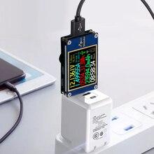 Testeur USB Charge rapide 1.77 pouces ligne de données tête de Charge détecteur voltmètre numérique ampèremètre tension courant mètre YK001