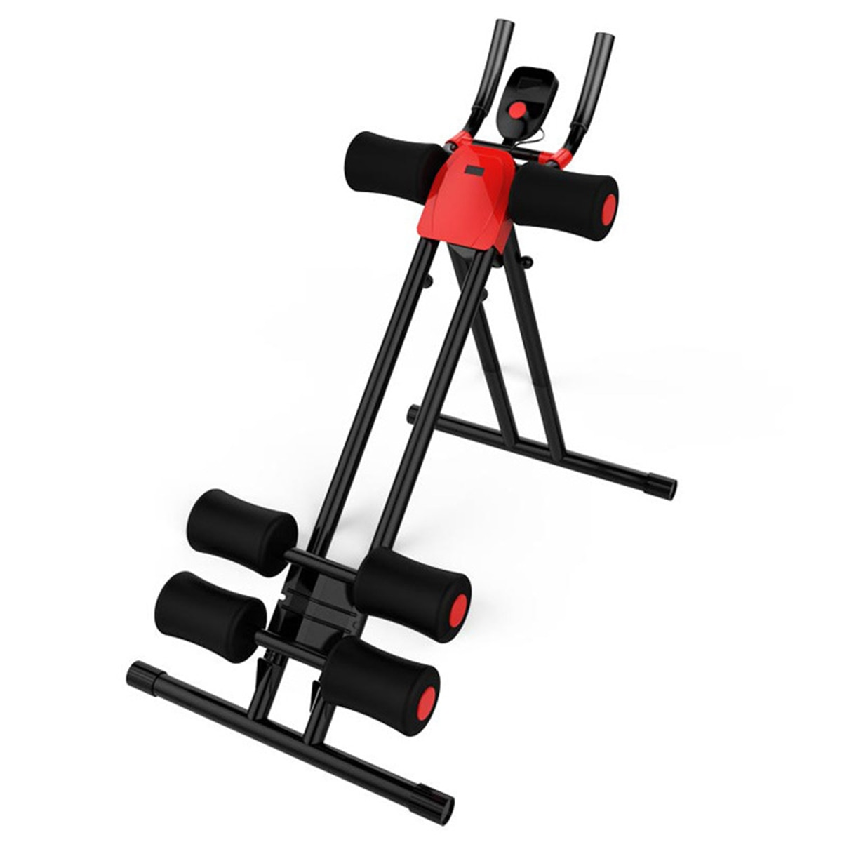 AB Gliders Trainer Rail Cruncher Abdominal Roller LED Smart Device Lose Weight Machine Home Gym ABS