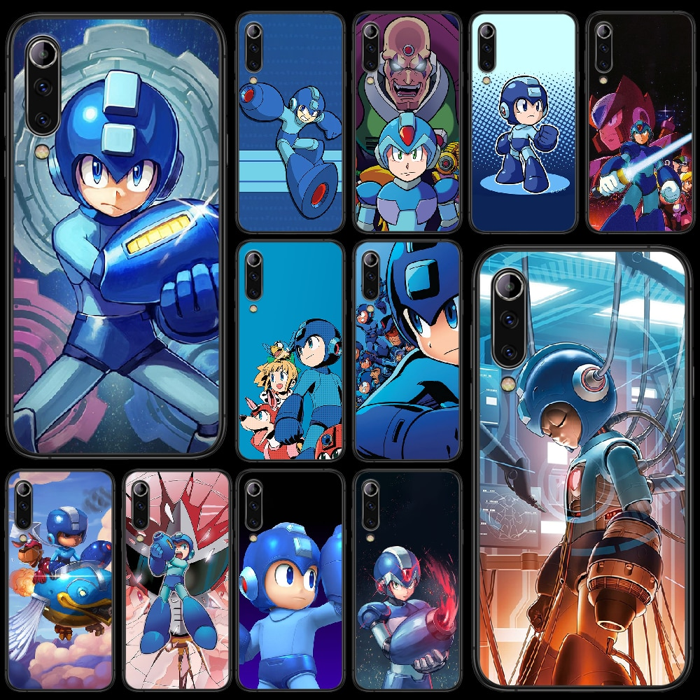 Rockman Megaman funda de teléfono para XIAOMI MI 8 9 SE nota...
