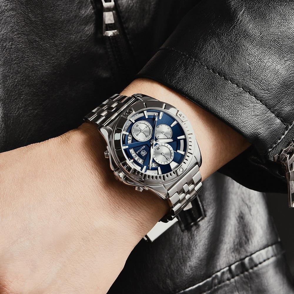 New Watch Men's Quartz Watch Multifunctional Waterproof Men's Watch 5180 Fashion Mechanical Watches enlarge