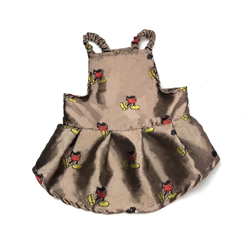 Ropa de perro para perros pequeños vestidos para Chihuahua ropa para Bulldog francés Yorkie Vip Dropshipping PC1189