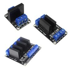 DC 5V 1/2/4 Kanaals Solid State Relais Lage Signaal Trigger Module voor arduino Diy kit