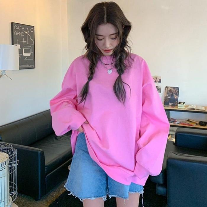 فستان فضفاض مستدير وردي جديد ، حديقة شرق بوابة كوريا الجنوبية ، ربيع وخريف 2020