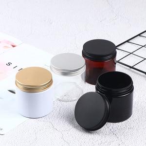 200ml Plastic Jar Cosmetic Cream Jar Plastic Pot Aluminum Lid Food Packing Cans
