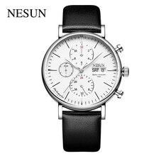 Nesun 9028 Automatic Watches Men Sports Mechanical Multi Function 50M Waterproof Swimming Wristwatch