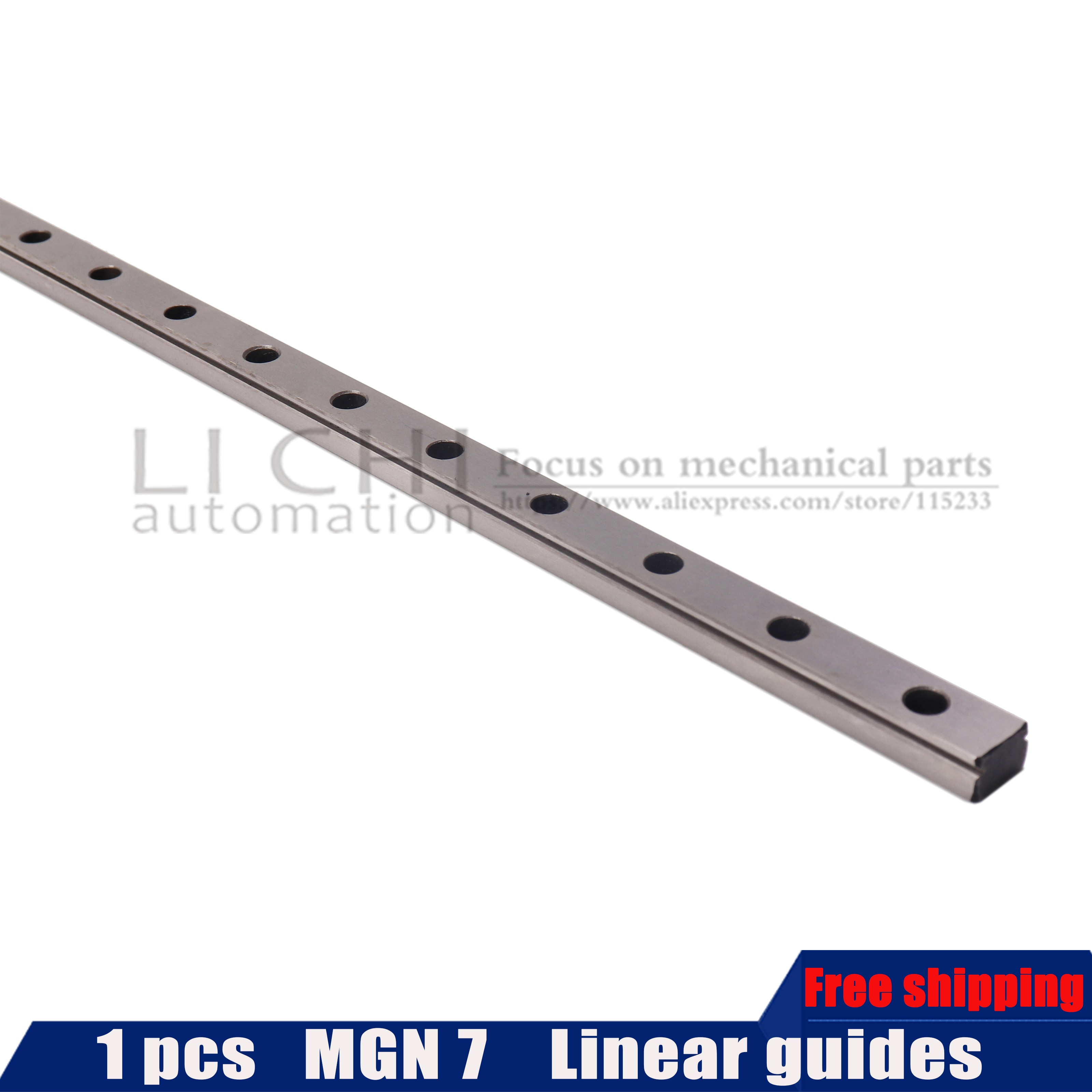 3D طابعة MGN7 الخطي دليل L 600 مللي متر 700 مللي متر 800 مللي متر 900 مللي متر 1000 مللي متر مصغرة خطي السكك الحديدية دون MGN الخطية المنزلق