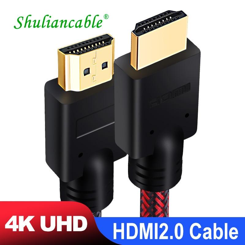 Shuliancable compatible con Cable HDMI 2,0 4k cable 1m 2m 3m 5m...