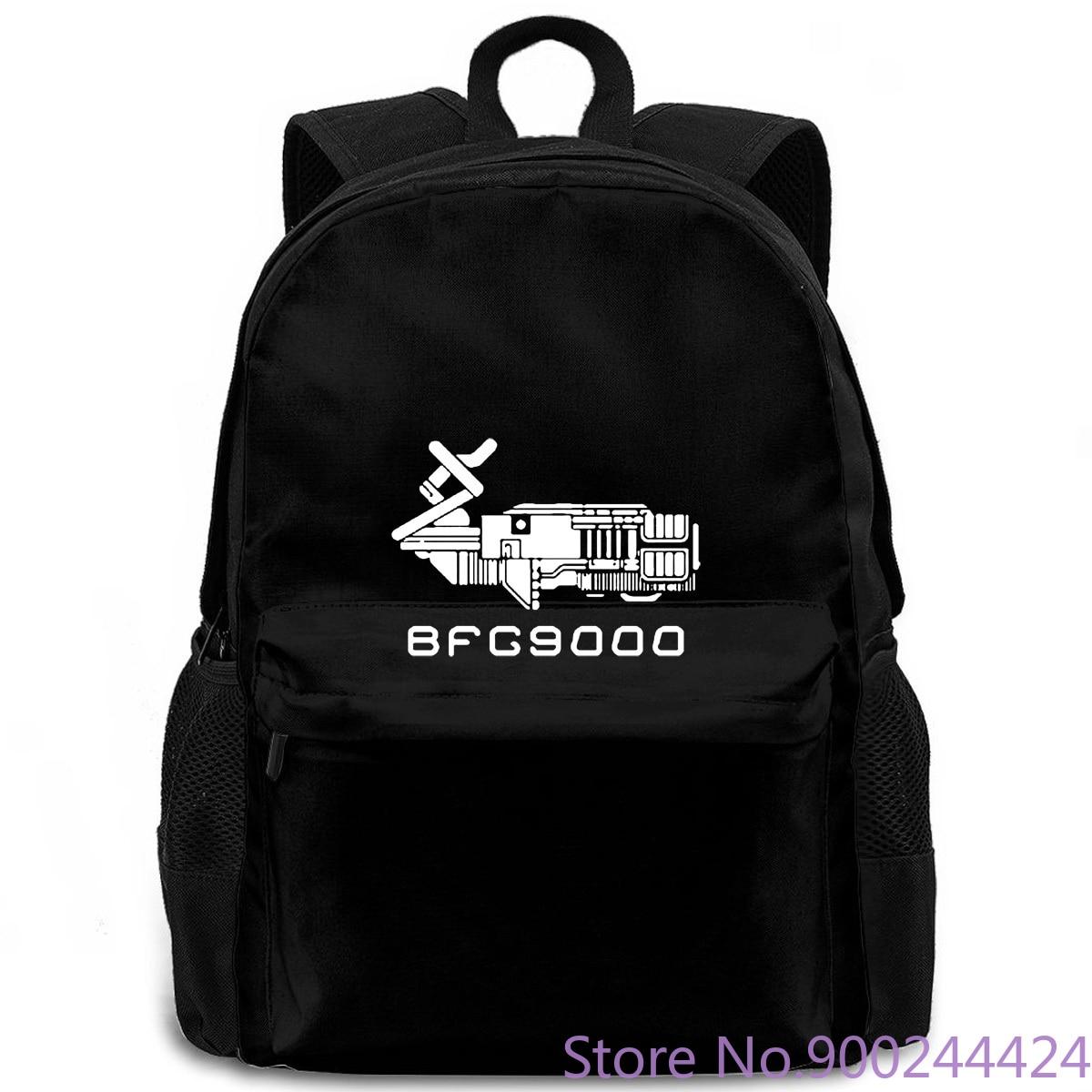 Famoso juego de película BFG, ventilador de película de cuello redondo, nueva mochila para hombres y mujeres, mochila para portátil, viaje, escuela, estudiante adulto