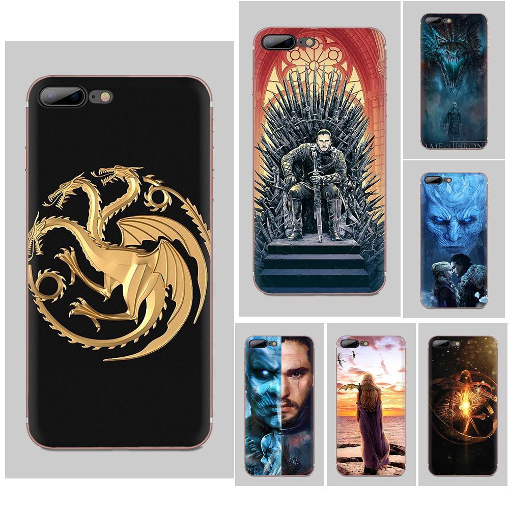 For Samsung Galaxy Note 8 9 10 Pro S4 S5 S6 S7 S8 S9 S10 S11 S11E S20 Edge Plus Ultra TPU Custom Design Throne Game
