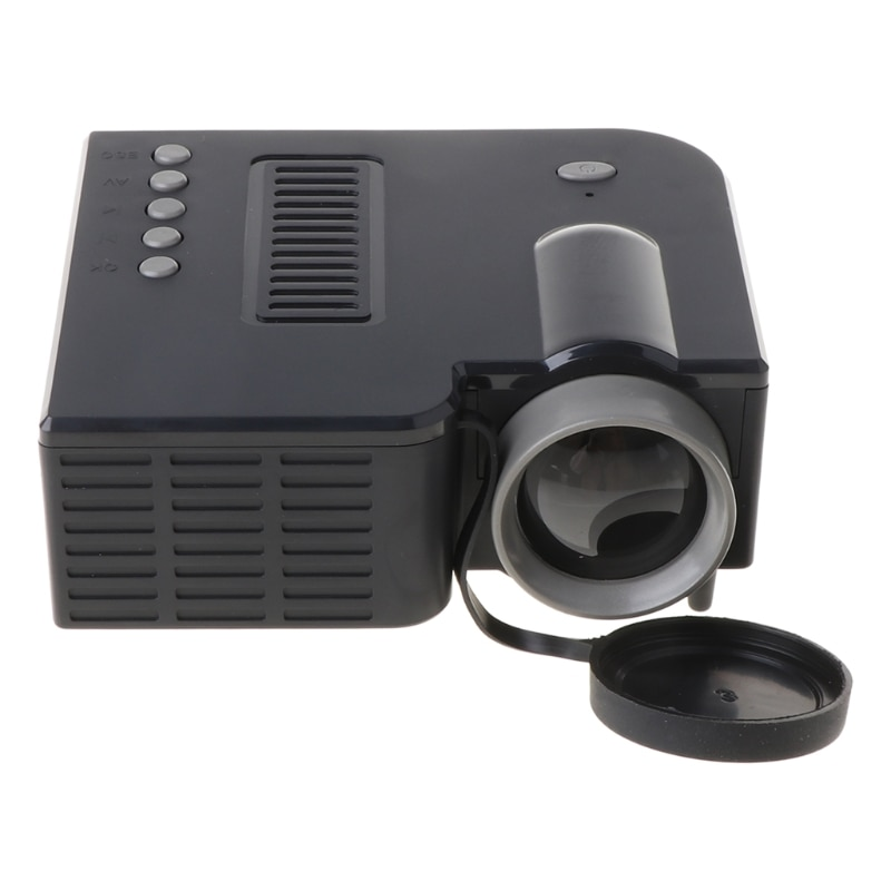 UC28C Mini Portable Video Projector 16:9 LCD Projector Media Player for Phones Dropship enlarge