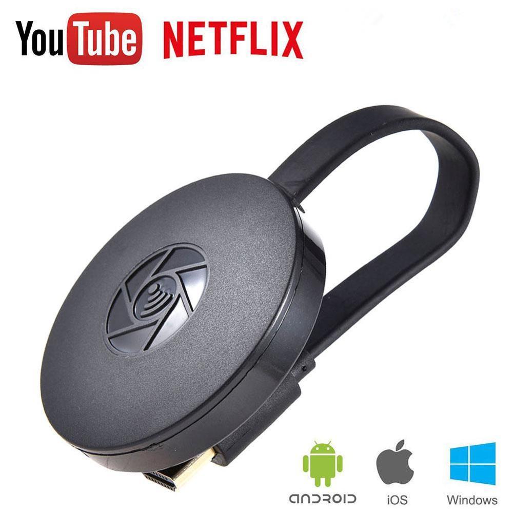 MiraScreen TV Stick HDMI Wireless WiFi Display Receiver1080P MobileScreen fundido reflejo Dongle pantalla para DLAN Netflix, YouTube