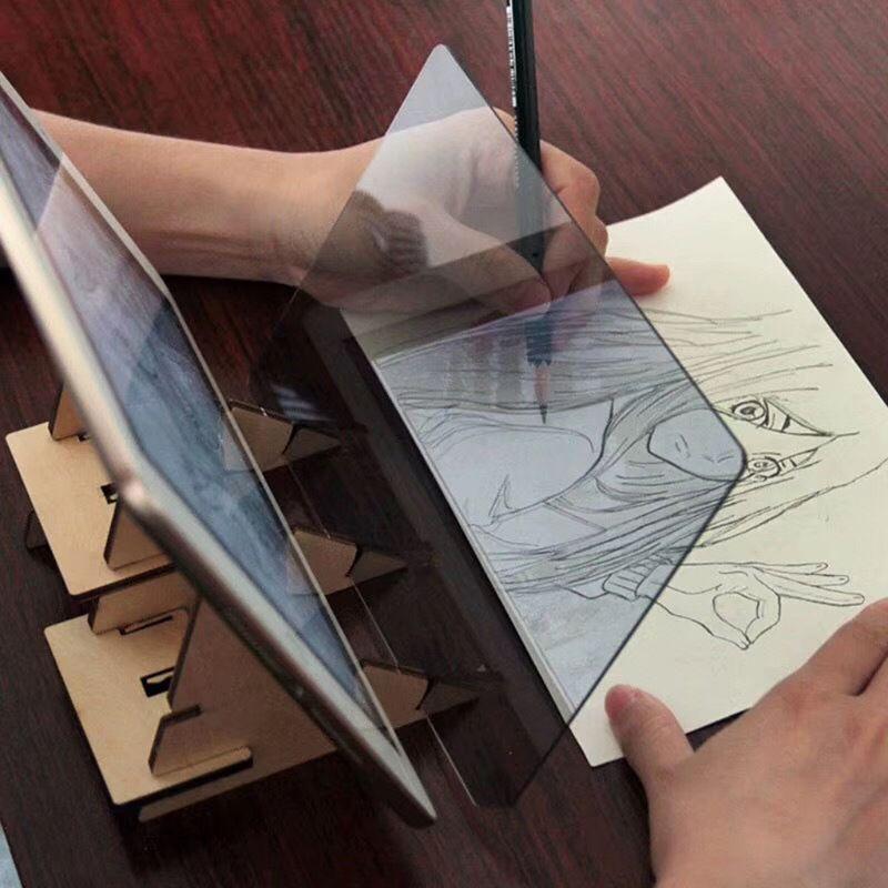 Детская панель для рисования, доска для рисования, набор, копировальная доска, поделки, портативная форма для рисования на нулевой основе, а... доска для рисования детская quercetti для обучения математике и рисования 5323
