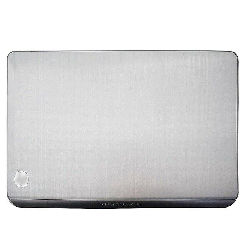 Novedad, Original, funda trasera para pantalla de ordenador portátil, funda para HP Envy Pavilion serie M6 M6-1000, cubierta trasera plateada y negra con LCD 690231-001