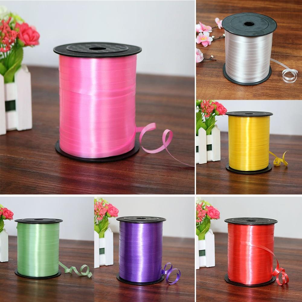 5mm Satin Ribbon 250yards/Lot DIY Handmade Crafts Supplies Wedding Birthday Party Gift Wrapping White Pink Gold Purple Ribbons
