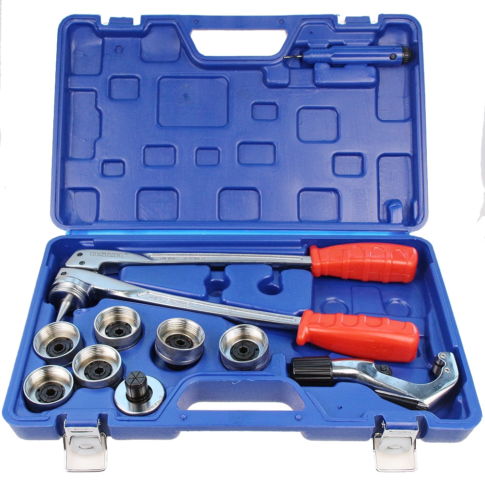 CT-100A 3/8 to 1-1/8 copper tube expander tool  10-28MM hvac hydraulic swaging tool kit copper tube expander for copper tubing expanding 3 8 to 1 1 8