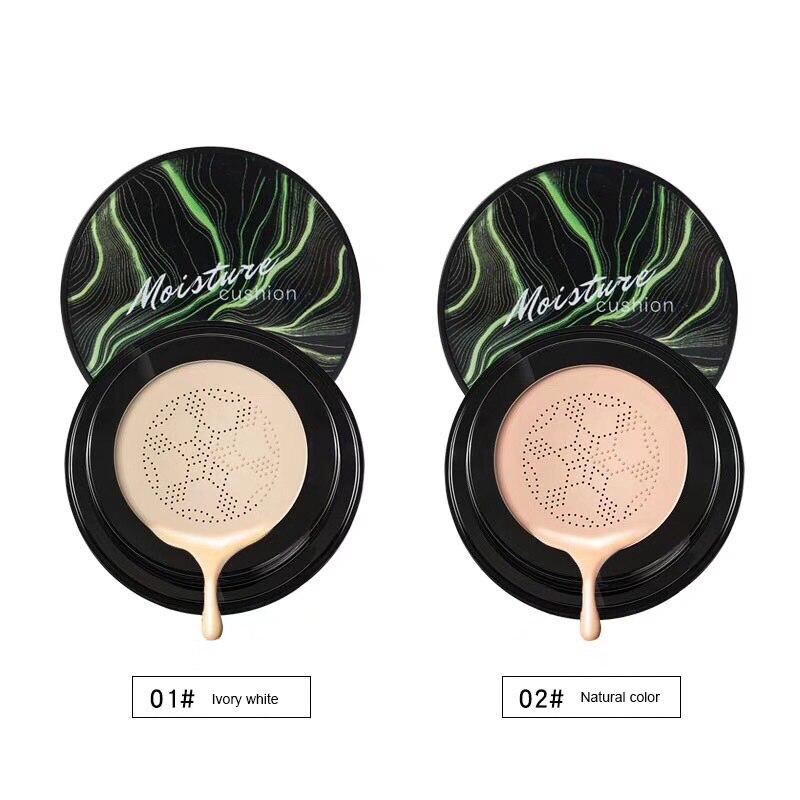 Face Foundation Base Mushroom Head Make up Air Cushion Moisturizing Foundation Natural Brightening BB Cream Makeup