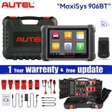 Autel MaxiSys MS906BT диагностический инструмент для автомобиля с кодированием ЭБУ, активным тестом, клавишами IMMO, OE уровнем диагностики сброса масла, EPB, SAS,