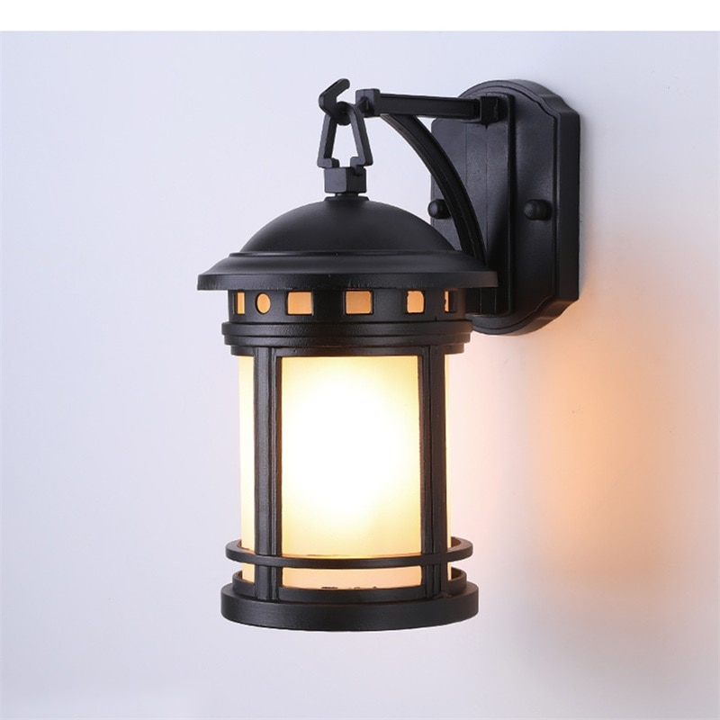 8M Outdoor Retro Wall Lamp Classical Sconces Light Waterproof IP65 LED For Home Porch Villa enlarge