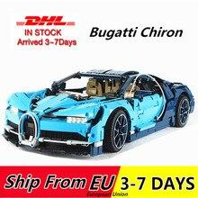 68001 3636 sztuk Technic Race samochodowe klocki budowlane klocki model lepins 20086 42083 Christmas Gift Bugatti Chiron