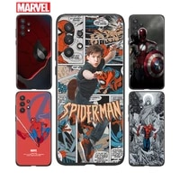 avengers spiderman for samsung a91 a72 a71 a52 a51 a42 a41 a32 a31 a22 a21s a12 a11 a03 a02s a01 4g 5g phone case