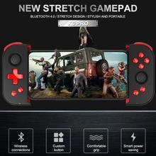 X6 프로 블루투스 2.4g 무선 게임 패드 pubg 터보 기능 레드 워리어 평화 엘리트 전화 게임 컨트롤러 어시스턴트 ps3 용