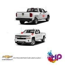 DrawndPaint for Chevrolet Automotive Touch Up Paint - ARGENT GREY SEMI-GLOSS - WA6277 - Paint Scratc