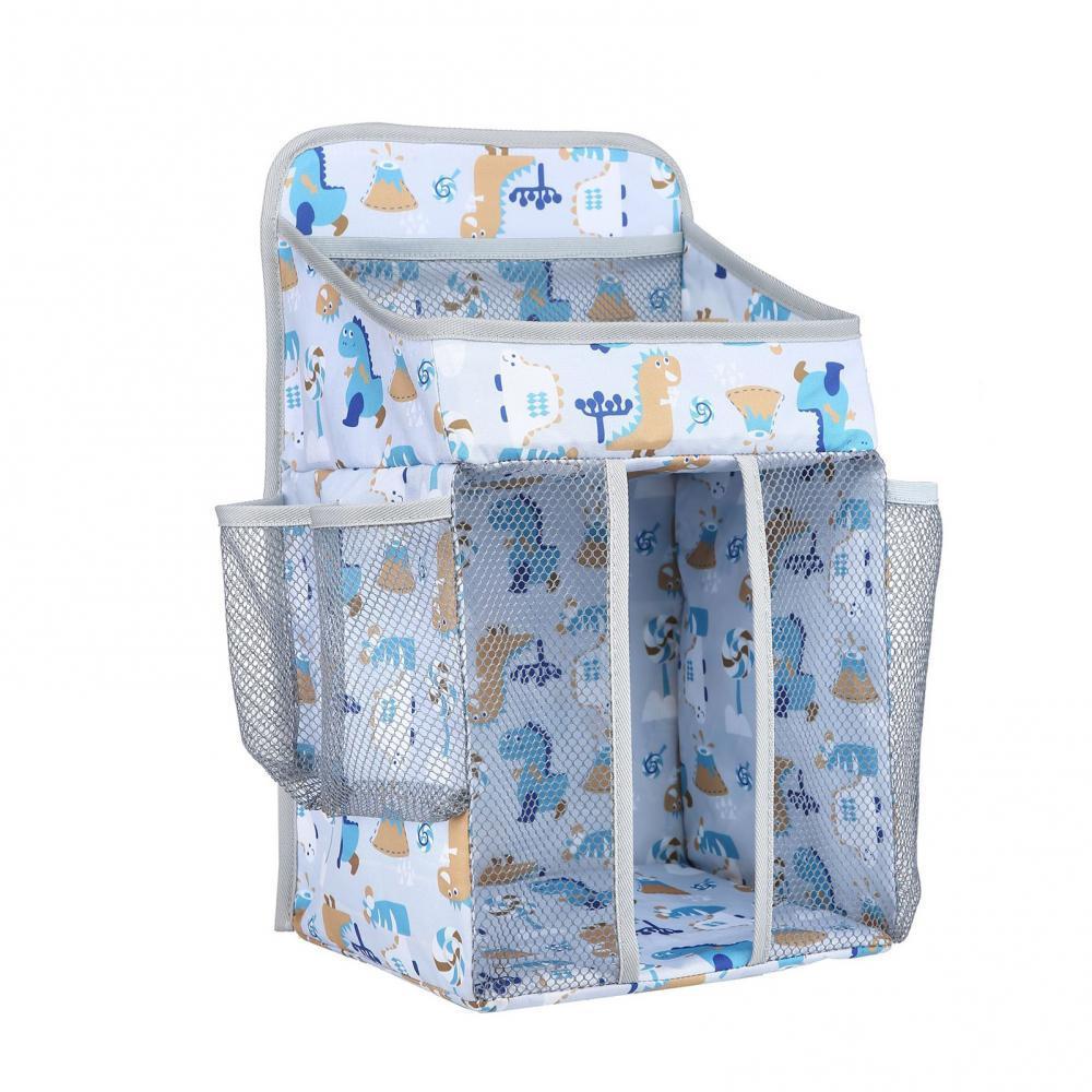 Portable Crib Organizer Baby Bed Diaper Storage Hanging Bag Cradle Bedding Set