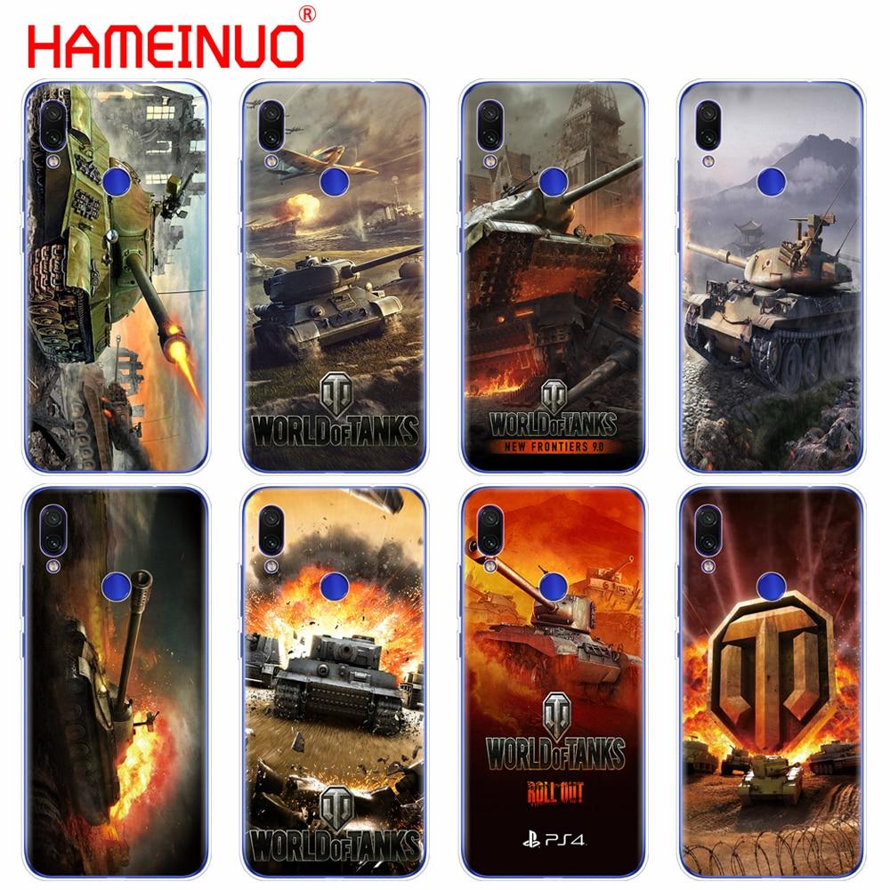 Caixa do telefone de silicone caso capa para o xiaomi mi 9 SE 9t PRO CC9 SE A3 Lite redmi NOET 7 7S PRO 7A redmi ir k20 pro y3 caso world of tanks