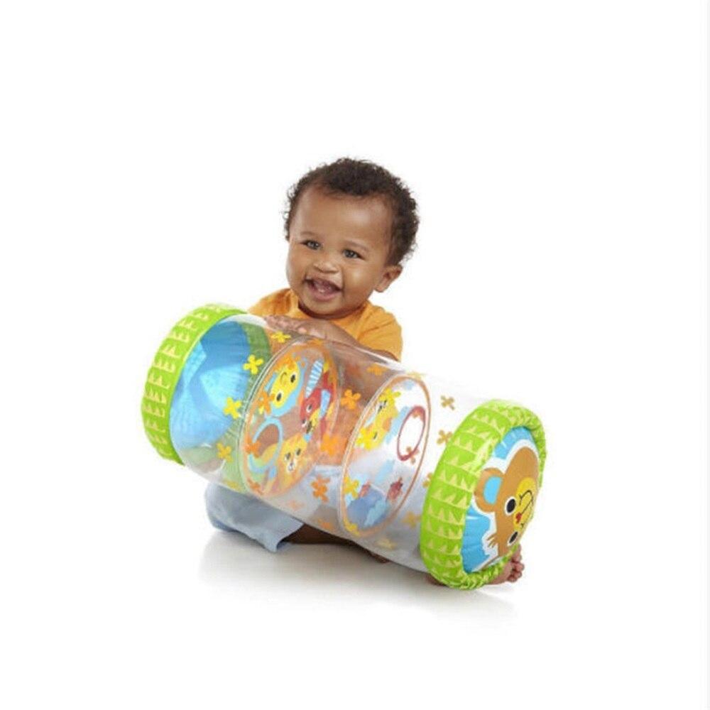 Детский Надувной телефон для ползания с колокольчиками, детские игрушки-фиджеты для ползания, Обучающие Игрушки для раннего развития, детс...