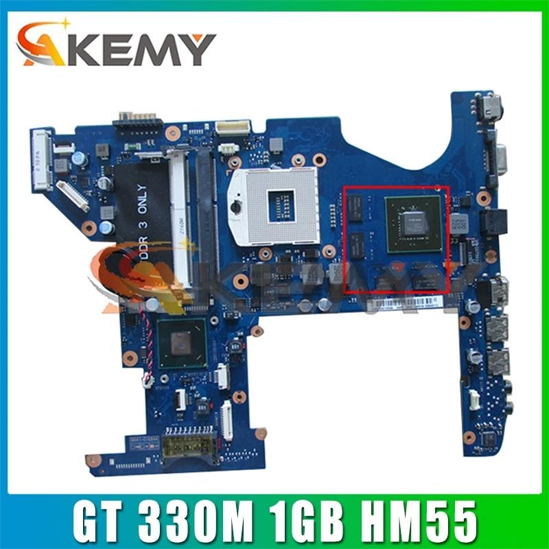 AKEMY لأجهزة الكمبيوتر المحمول سامسونج RF510 اللوحة الرئيسية BA92-07112A BA41-01372A GT 330M 1GB HM55 DDR3