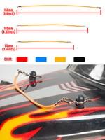 Клипсы для кузова радиоуправляемой машинки, 50 шт., 30 шт., R-контакты, веревка для 1/10 1/8, гусеничный осевой SCX10 Traxxas Tamiya RC4WD HSP HPI, модель автомобиля...