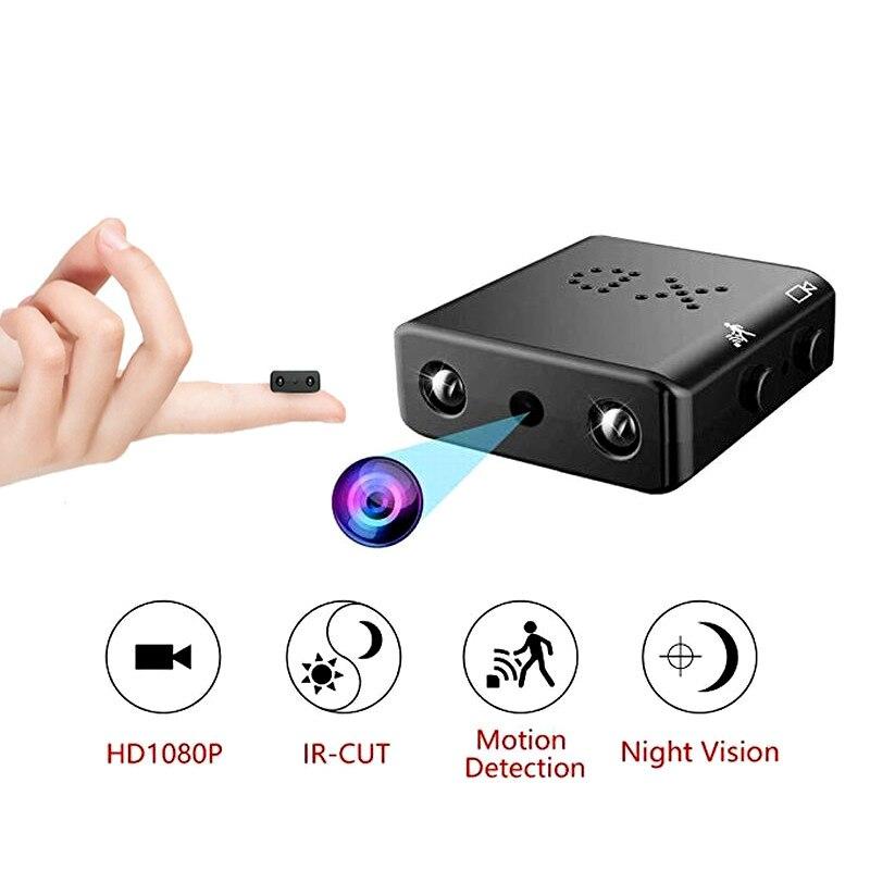XD IR-CUT Mini cámara más pequeña 1080P HD videocámara infrarroja visión nocturna Micro cámara de detección de movimiento DV DVR cámara de seguridad