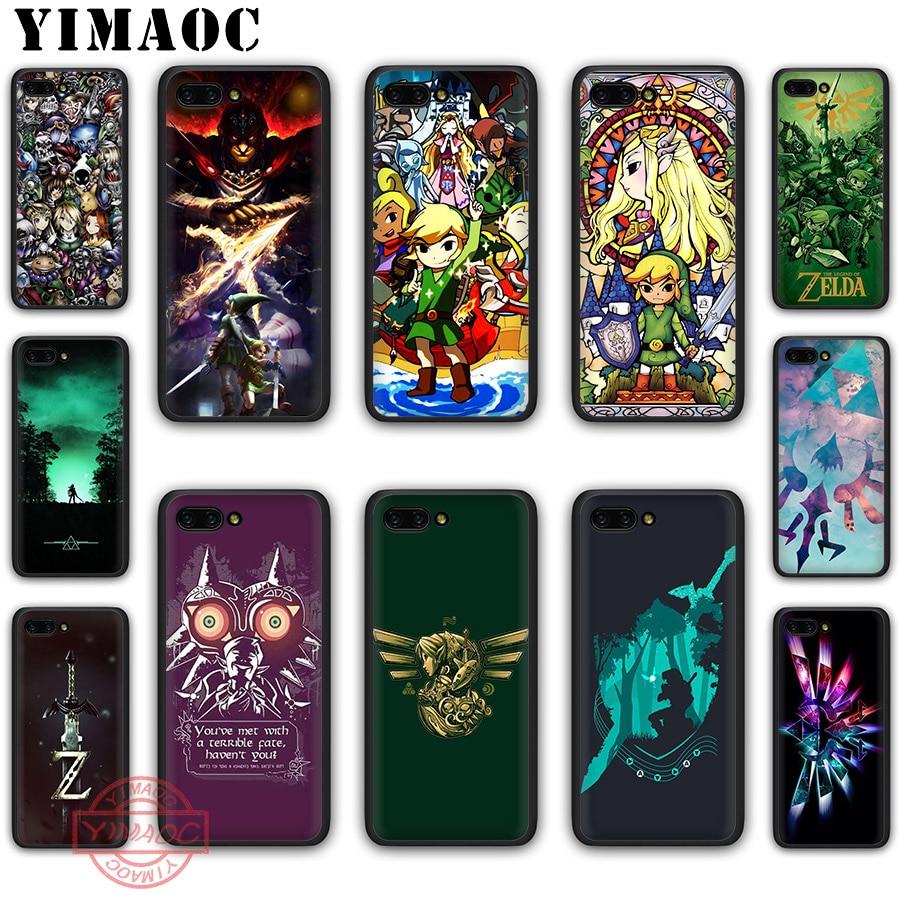 YIMAOC la leyenda de Zelda caso suave para Honor 20 10 9 8 Lite 9X 7A Pro 8X 8C 7X 7C 20 nota 10