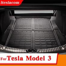 Upgrade Model3 2021 Trunk Mat For Tesla Model 3 Mat Accessories Car Trunk Mats Model Three 2017 -