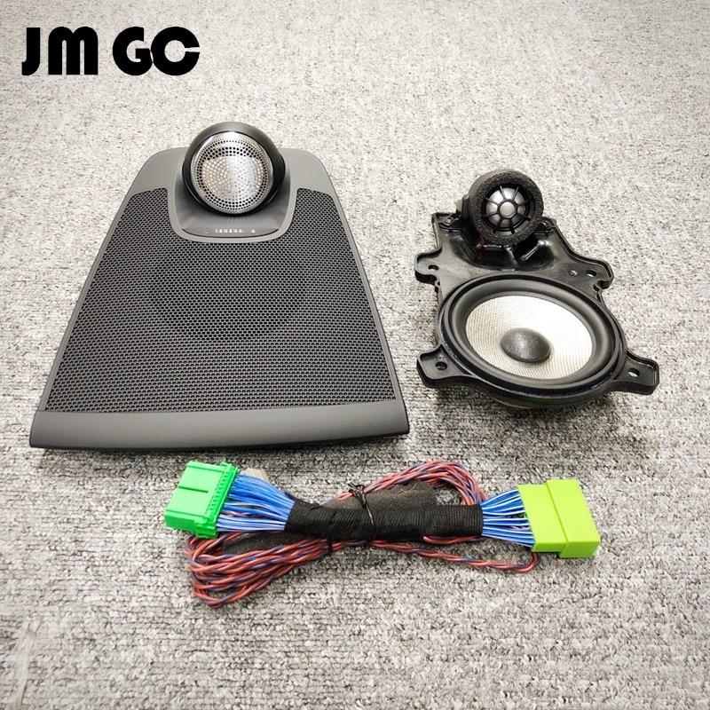 سيارة مركز المتكلم لفولفو XC60 لوحة أداة المتكلم مركز المتكلم Midrange/مكبر الصوت غطاء مكبر الصوت التثبيت الأصلي