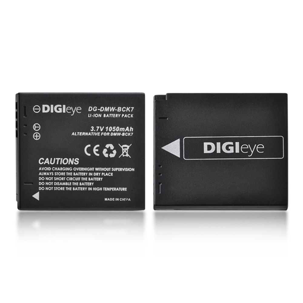 2pcs DMW-BCK7 BCK7E BCK7PP Battery for Panasonic DMC-SZ02 DMC-SZ1 DMC-SZ5 DMC-SZ7 DMC-TS20 DMC-TS25 DMC-FS28 FS35 DMC-FS37